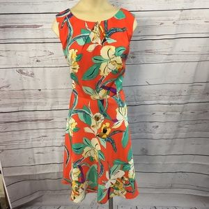 Dress Barn Floral Summer Dress size 12!